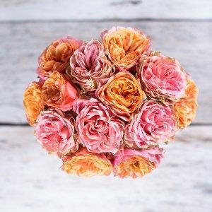 Šopek iz angleških vrtnic