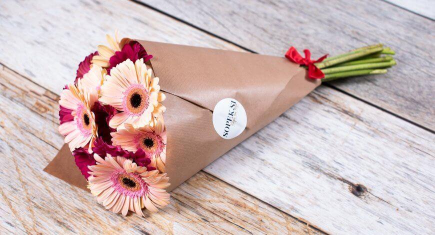 Šopek iz cvetličarne Maribor