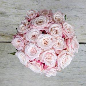 Šopek iz rožnatih vrtnic