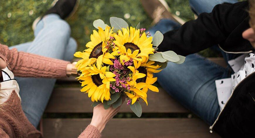 Šopek iz cvetličarne Celje